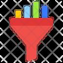 Data Funnel Icon