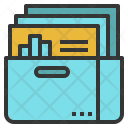 Data gathering Icon