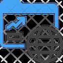Network Data Analysis Icon