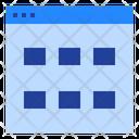 Data Grid Icon