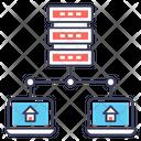 Data Hosting Icon