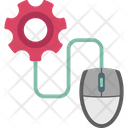 Data Hosting Domain Hosting Web Designing Icon