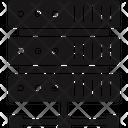 Data Hosting Database Design Database Management Icon