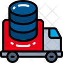 Data In Transit Truck Move Icon