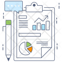 Data Analytics Business Infographic Business Analytics Icon