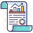 Data Infographic Data Chart Data Report Icon
