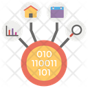 Data Integration Data Collection Transformation Icon