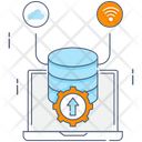 Data Execution Data Performance Project Management Icon