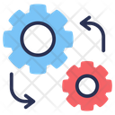 Data Integration Solidarity Entirety Icon