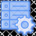 Data Management Data Processing Setting Icon