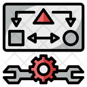 Data Interpretation Clarify Process Icon