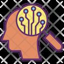Idata Learning Data Learning Human Mind Icon