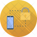 Data Locked Authentication Data Protection Icon