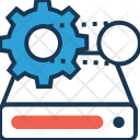 Data Management Processing Icon
