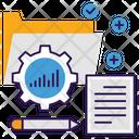 Data Management Business Management Data Configuration Icon