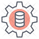 Data Adjustment Database Configuration Data Management Icon