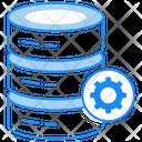 Database Management Database Setting Server Management Icon