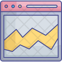 Data Management Data Processing Data Visualization Icon