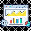 Data Management Data Analytics Infographic Icon