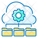 Data Management Cloud Folder Data Icon