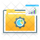 Data Analytics Data Processing Data Configuration Icon