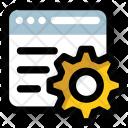Data Management Cms Icon