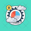 Data Management Pie Icon