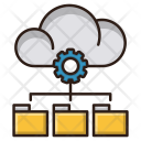 Data Management Cloud Icon
