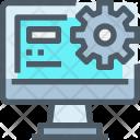 Data Management Optimize Icon