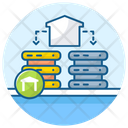 Data Mart Data Warehousing Data Storage Icon
