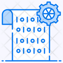 Data Mart Binary Data Programming Language Icon