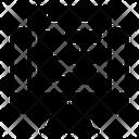 Big Data Data Encryption Data Masking Icon