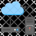 Data Migration Transmission Icon