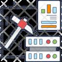 Data Exploration Data Mining Data Extraction Icon