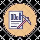 Mdata Mining Data Mining Analysis Icon