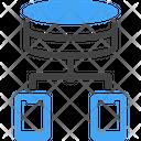 Data Mobile Network Icon