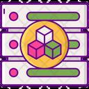 Data Modelling Server Modelling Icon