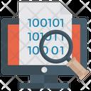 Data Monitoring Data Explorer Web Explorer Icon