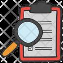 Data Search Content Search Data Monitoring Icon