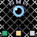 Visualization Monitoring Analyzer Icon