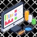 Data Analysis Data Monitoring Data Visualization Icon