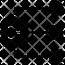 Data Network Database Network Data Bank Icon