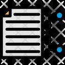 Data Network Online Data Storage Online Docs Icon