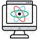 Science Research Data Icon