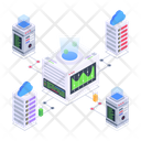 Data Network Servers Network Server Connection Icon