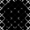 Database Data Sharing Database Network Icon