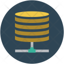 Data Network Database Icon