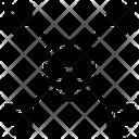 Data Network Storage Process Icon