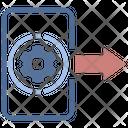 Data Output Data Output Icon