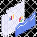 Data Presentation Statistics Business Chart Icon